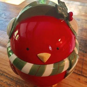 🎅PIER 1 christmas cookie jar